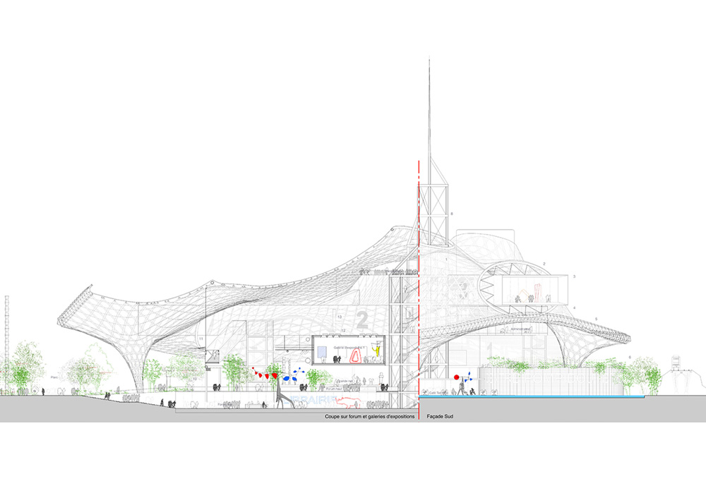 Centre Pompidou Metz Jean De Gastines
